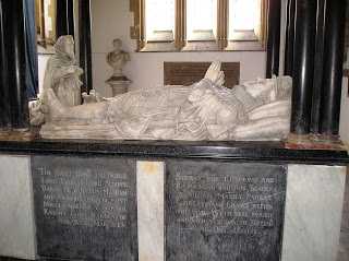 The-Tomb-of-Thomas-Lord-Scrope-in-Langar-Nottinghamshire